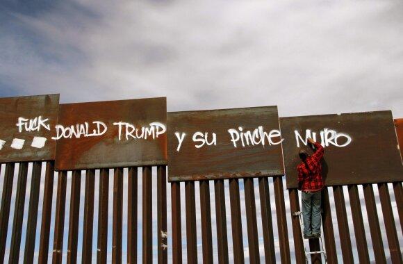 JAV ir Meksikos pasienis