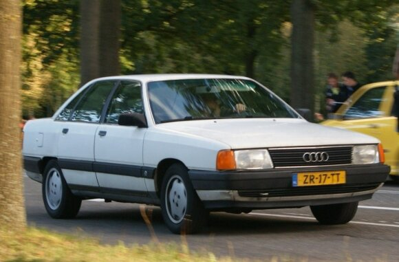 """""""Audi 100"""" – Silkė. Niels de Wit/Flickr nuotr."""