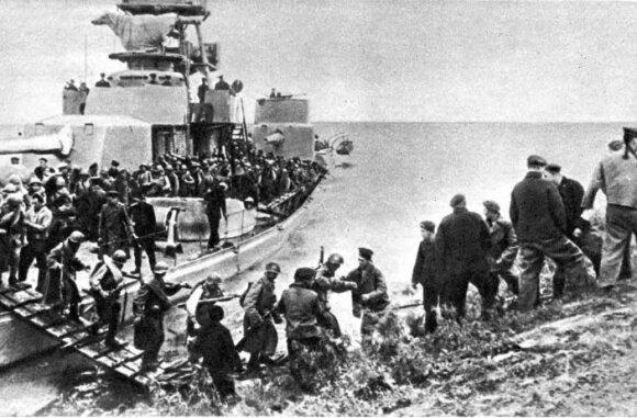 Sovietų kariai Mandžiūrijoje
