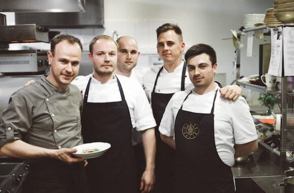 Darbą prabangiuose Londono restoranuose iškeitė į Lietuvą ir džiaugiasi