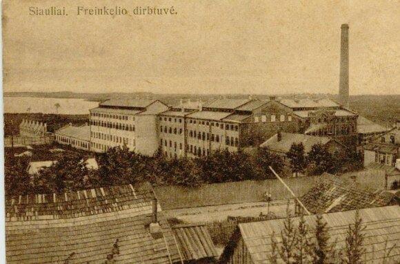 Frenkelio fabrikas // Nuotr. iš kolekcininko Michailo Duškeso kolekcijos
