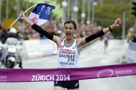 Maratono laimėtoja prancūzė Christelle Daunay