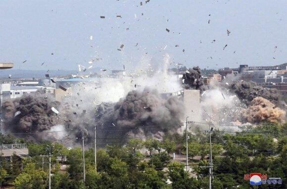 Kaesongo ryšių biuro susprogdinimas