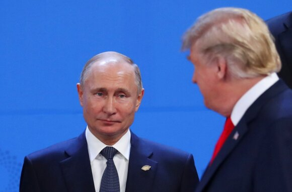 Putinas ir Trumpas