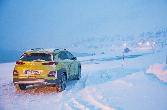 Vitoldas Milius leidosi į kelionę su Hyundai Kona EV
