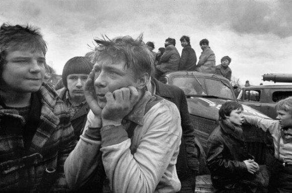 В Москве - масштабная фотовыставка Ромуальдаса Пожерскиса