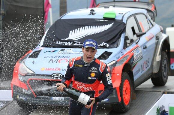 Haydenas Paddonas triumfavo Argentinoje