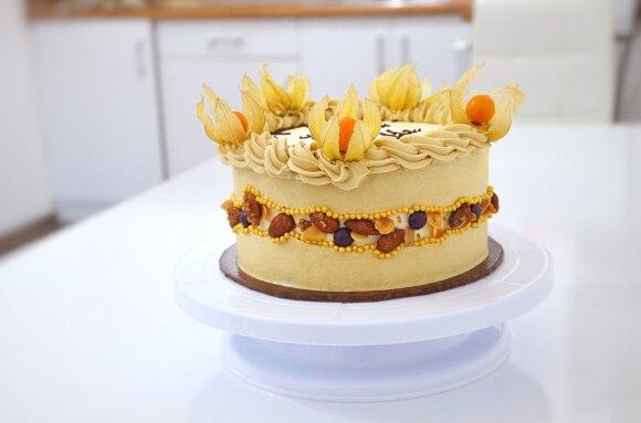 Virginijos Pupeikytės-Dzhumerovos tortas