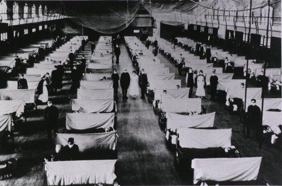 Didžiausios pandemijos žmonijos istorijoje: šimtai milijonų aukų ir bergždžios pastangos jas suvaldyti