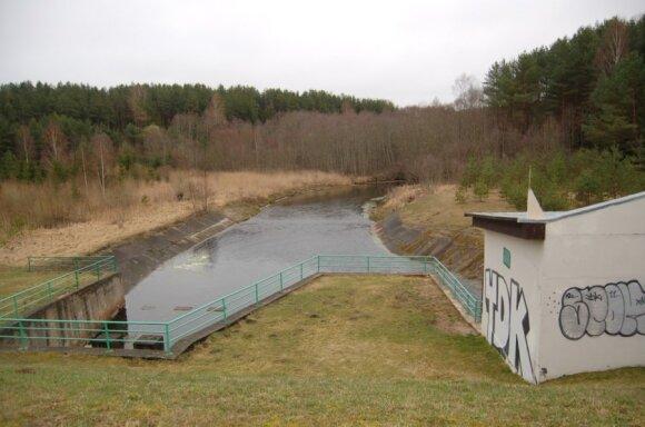 Hidroelektrinė Anykščių rajone