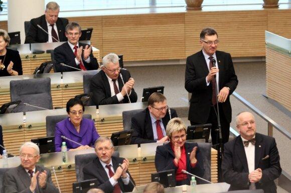Social Democrat group in the Seimas