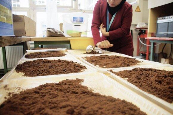 Tirščių savybėms turi įtakos kavos malimas, bet ne rūšis