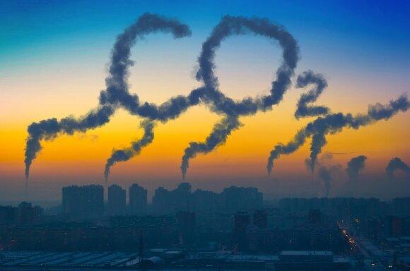 Planetos karščiavimą siūlo sustabdyti orą filtruojančiomis mašinomis