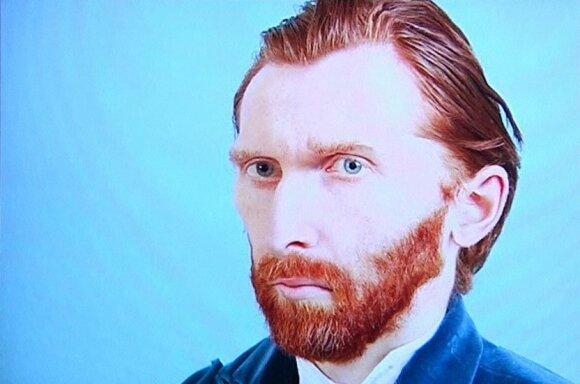 Lietuvis fotografas Tadas Černiauskas sukūrė V. Van Gogho nuotrauką