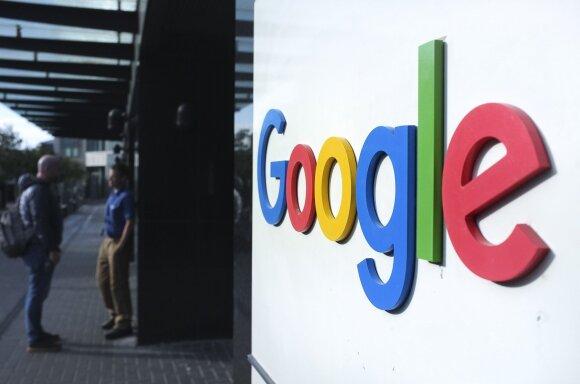 """""""Google"""" darbuotojai sunerimo dėl bendrovės noro bendradarbiauti su kariuomene"""
