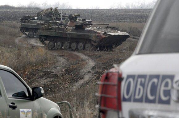 Kas iš tiesų vyksta Rytų Ukrainoje prieš Putino ir Zelenskio susitikimą? Pilkojoje zonoje – sudėtinga situacija