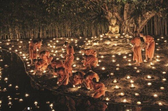 Tailande Naujieji švenčiami balandį