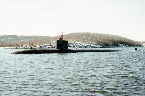 """Povandeninis branduolinis laivas """"USS Minneapolis-St Paul"""""""