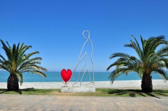Sveiki atvykę į Gruziją: Batumis ir pajūris