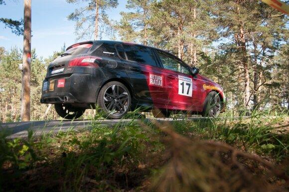 """Peugeot 308 GTi"" – paruoštas varžyboms"
