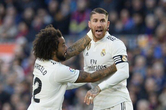 Marcelo ir Sergio Ramos