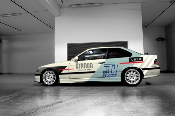 """Naujas K. Raišio """"BMW M3"""" dizainas"""