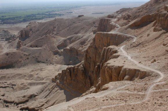 Kelias į Luksorą