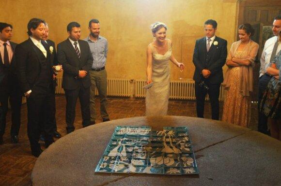 Ingos ir Gerardo dovana vestuvių svečiams