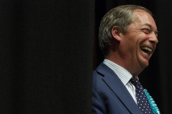 Nigelis Farage'as