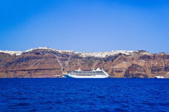 Santorinio sala