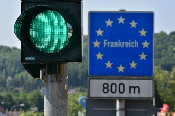 Vokietijos-Prancūzijos pasienis