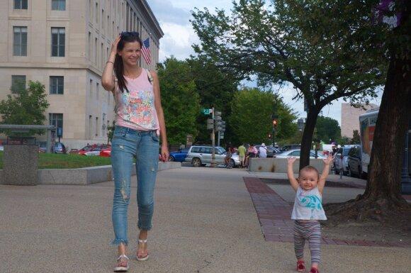 Laura Mazalienė – apie kelionę su mažu vaiku į <em>nedraugišką šeimoms</em> Niujorką