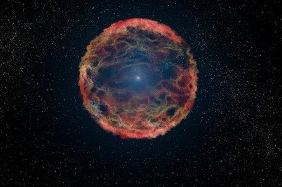 Supernova SN 1993J