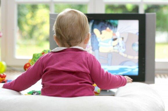 Psichologė – apie televizoriaus daromą žalą vaikams