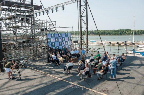 Pristatytas pirmasis Tarptautinis Klaipėdos festivalis