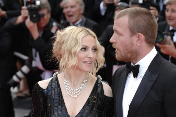 Madonna ir Guy Ritchie