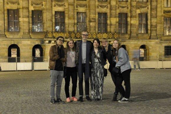 Svajonių studijos prestižiniame Londono universitete − lyg darbas visu etatu