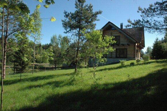 Kalnuotės ekobendruomenė, Irmos Šorienės namai