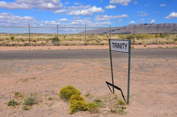 """""""Trinity"""" sprogimo vieta"""