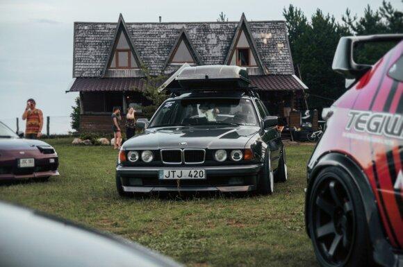 7 serijos BMW. Gabrielės Naciūtės nuotr.