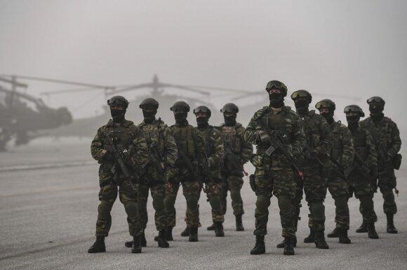 Graikijos ir JAV karinės pratybos