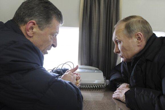 Dmitrijus Kozakas, Vladimiras Putinas
