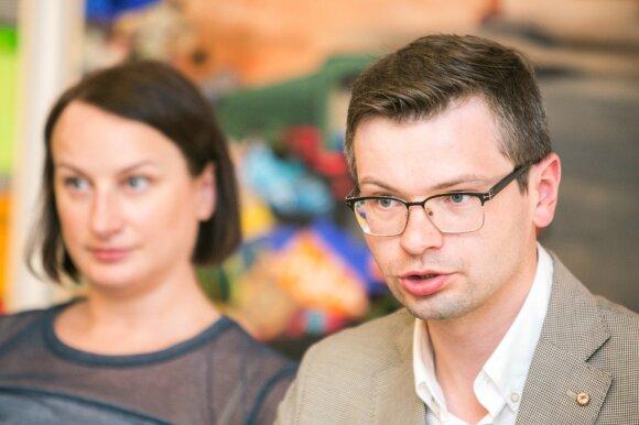 L. Motuzienė ir V. Safronovas
