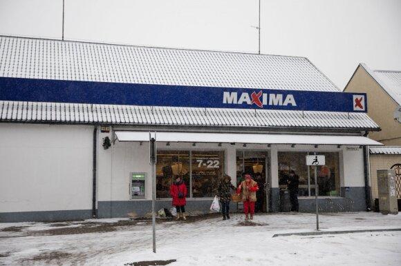 """Nemenčinės miesto """"Maxima"""""""