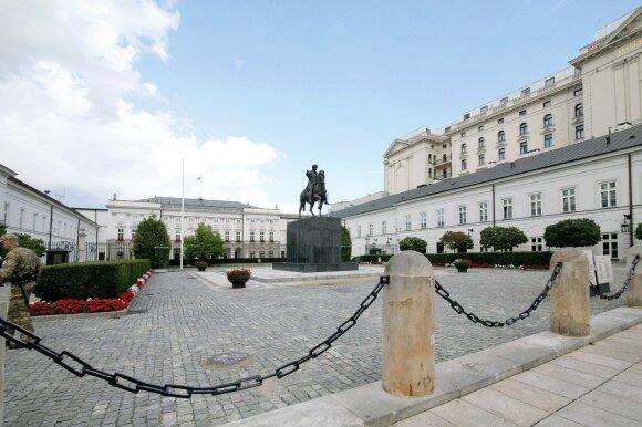 Dabartinės Prezidentūros rūmai priklausė Radvilų šeimai