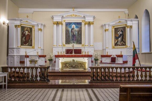 Teofiliaus Matulionio koplyčia (Giedrės Streikauskaitės nuotr.)