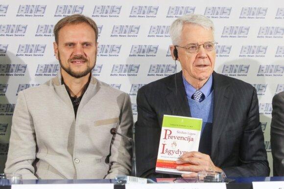 """Paulius Jaruševičius, Caldwellas Esselstynas ir jo knyga """"Širdies lygos, Prevencija ir išgydymas"""""""