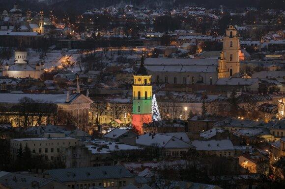 Naujų metų sutiktuvės Vilniuje