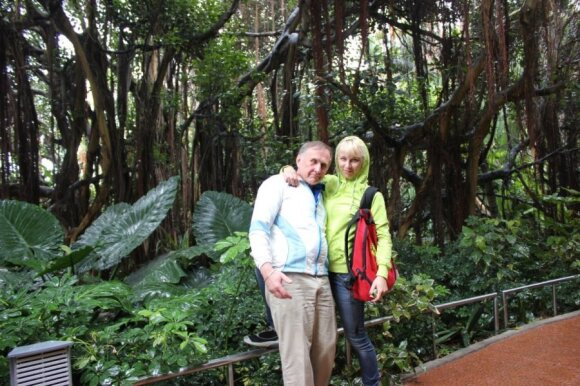Mykolas ir Agnė Zobovai