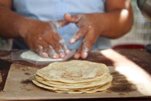 Meksika, tortilijos